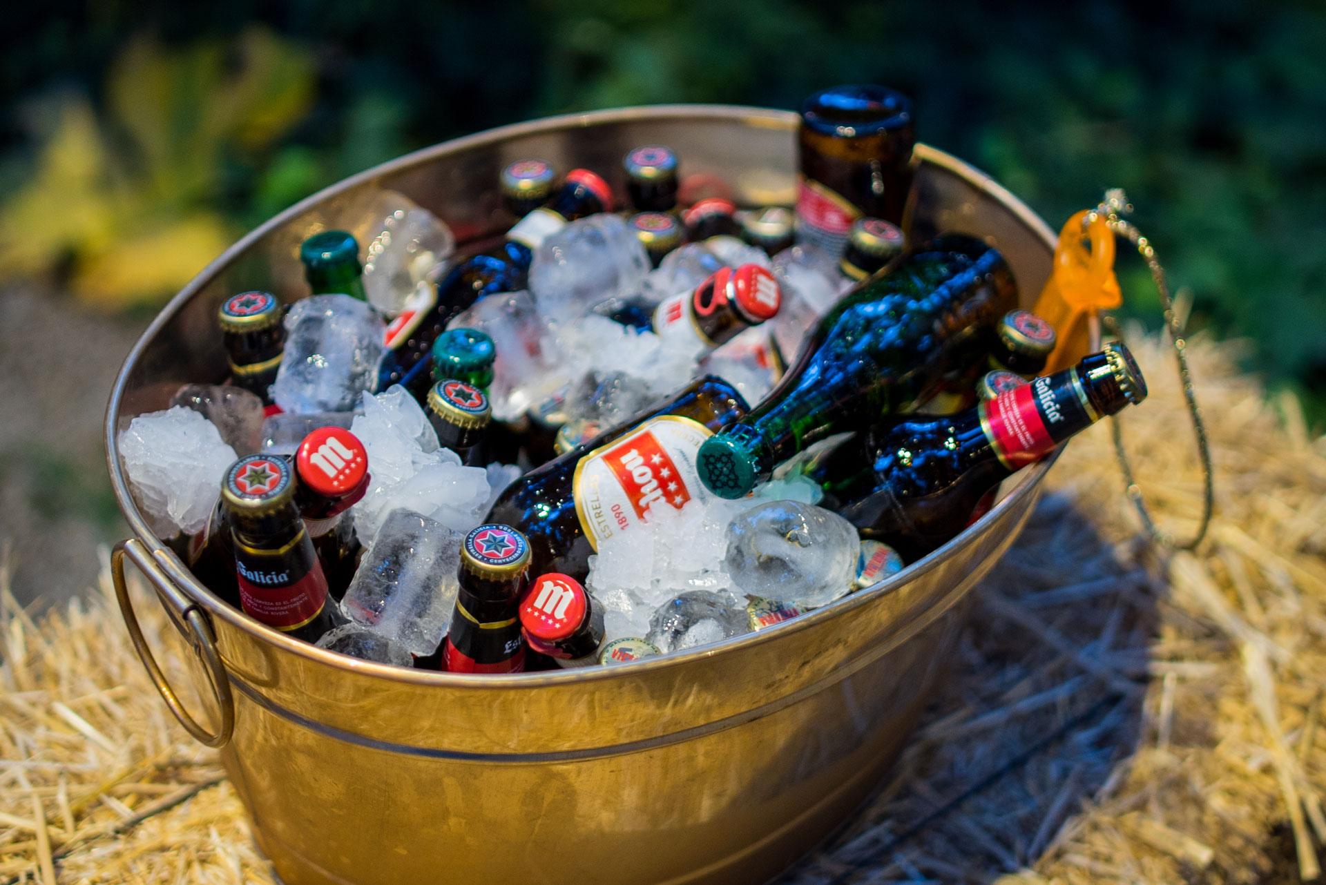 bebidas catering lucia