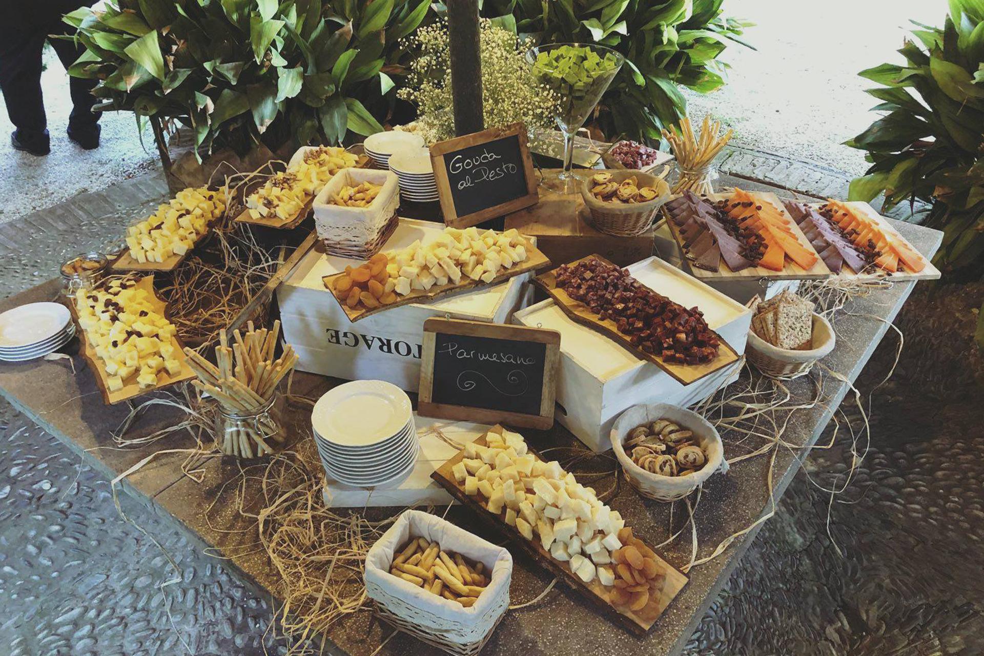 Ideas de menu para catering bodas en verano